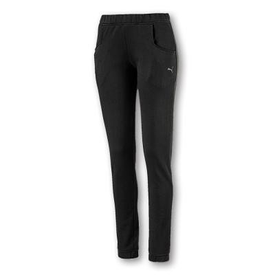 PUMA-女性法拉利經典系列棉質長褲-暗月黑-歐規