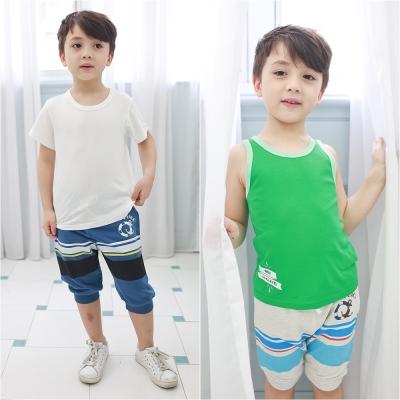 baby童衣 海軍風條紋運動短褲 60153
