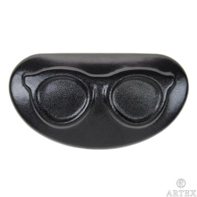 ARTEX life 皮革收納小盒 眼鏡造型 黑