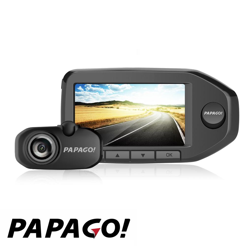 PAPAGO GoSafe GS760前後雙鏡頭行車紀錄器-快