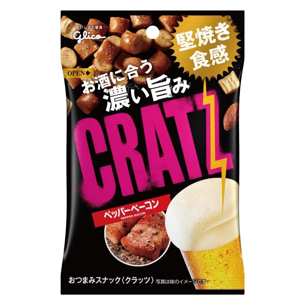 GOLICO格力高 CRATZ卡滋脆餅黑胡椒培根風味(42g)