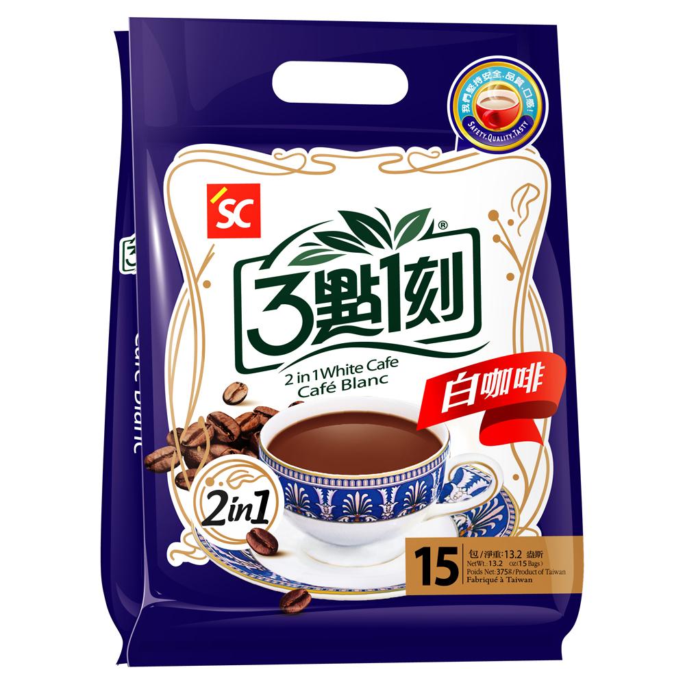 3點1刻 白咖啡2in1(25gx15包)