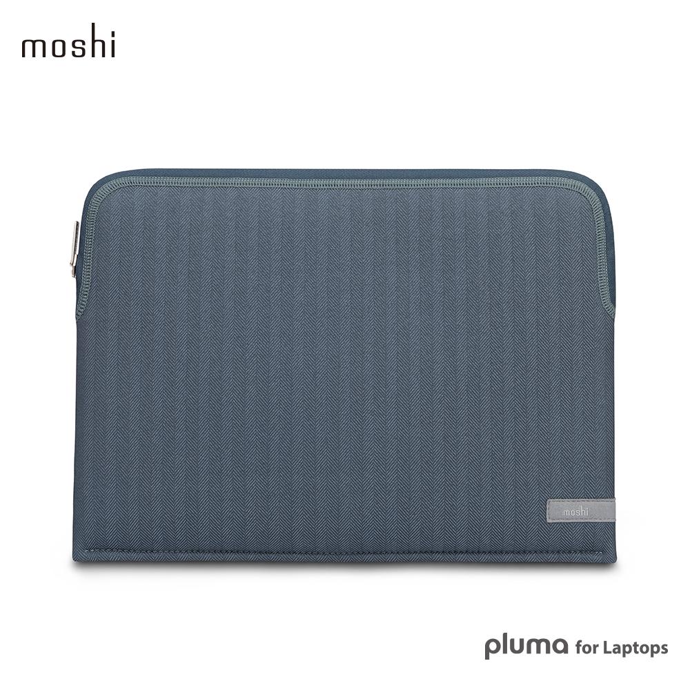 Moshi Pluma for Laptops 輕薄防震通用性筆電內袋-牛仔藍 @ Y!購物