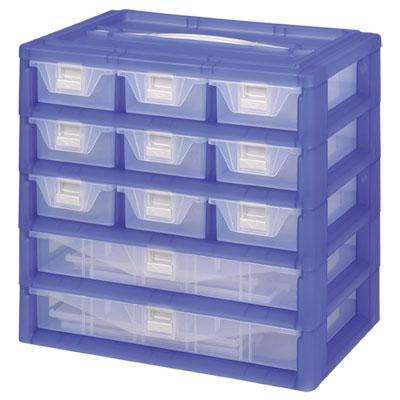 【DOLEDO】手提分類收納整理盒- 三+二層