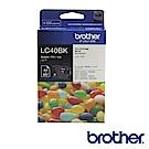 Brother LC40BK 原廠黑色墨水匣