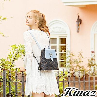 KINAZ 光輝果實多用後背包-經典深藍-莊園系列