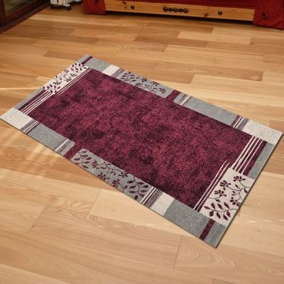 Ambience-比利時infinity 現代地毯 -紗舞(紅)(67x140cm)