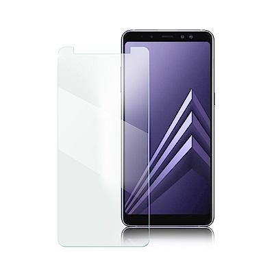 XM Samsung A8+ 2018 薄型 9H 玻璃保護貼-非滿版