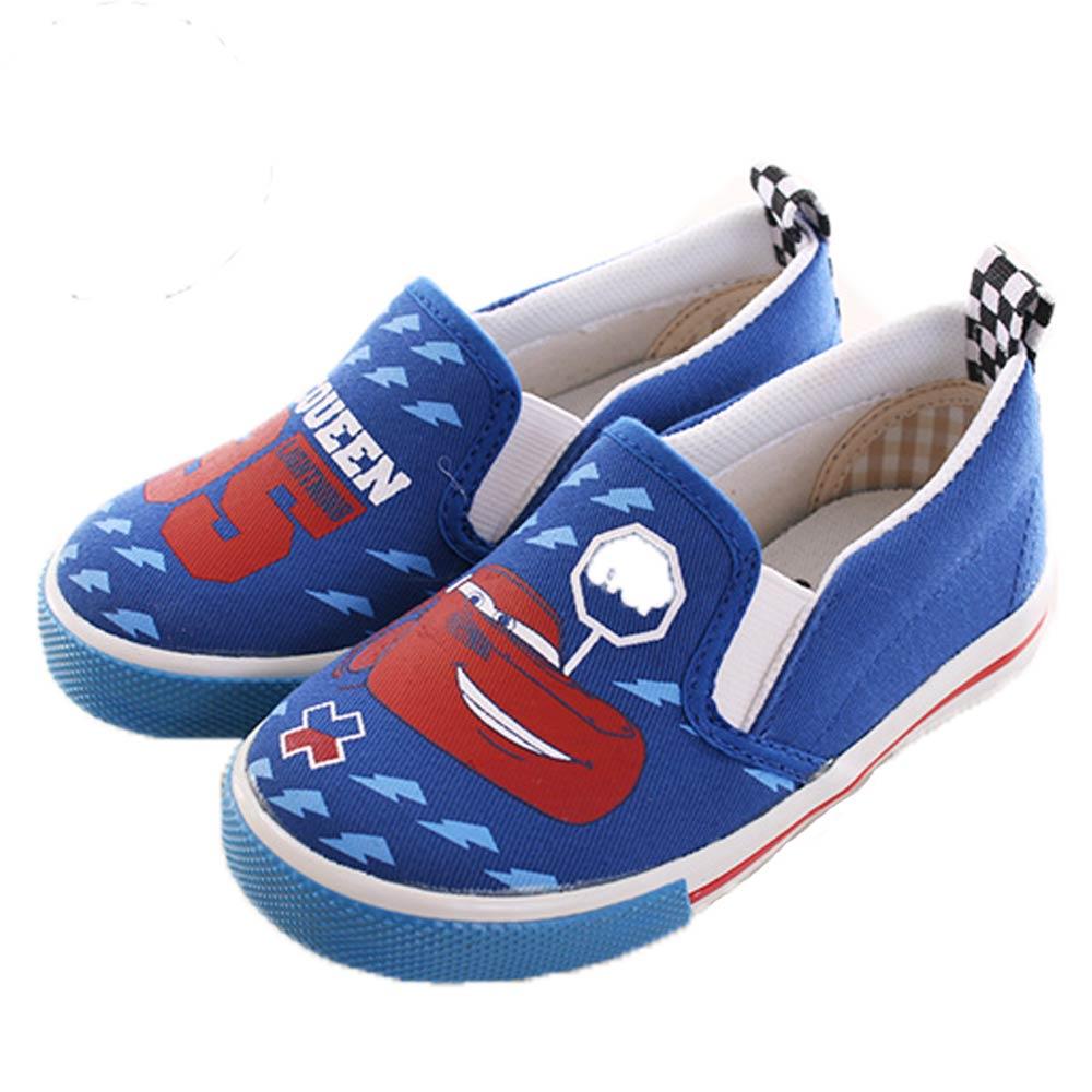 迪士尼閃電麥坤不對稱帆布鞋 藍 sk0107魔法Baby