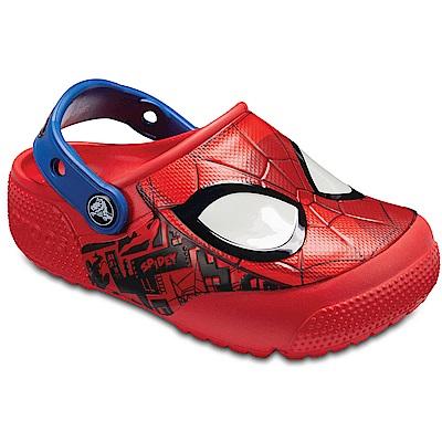 Crocs 卡駱馳 (童鞋) 蜘蛛人酷閃小克駱格 205018-8C1