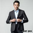 per-pcs  紳士質男修身西裝外套_黑色(715303)