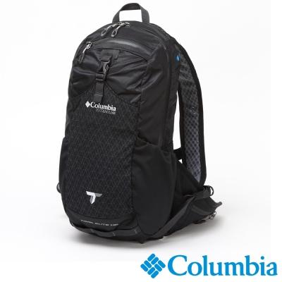 【Columbia哥倫比亞】12L輕量雙肩後背包-黑色 UUU12050BK