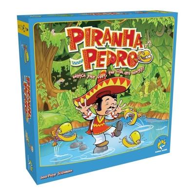 歐美桌遊-食人魚與派德羅-PIRANHA-PEDR