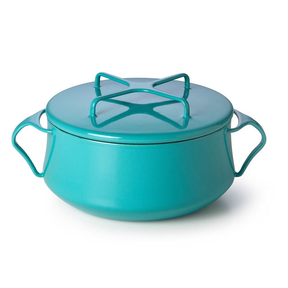 Dansk Kobenstyle 雙耳砂鍋 2QT(藍綠)