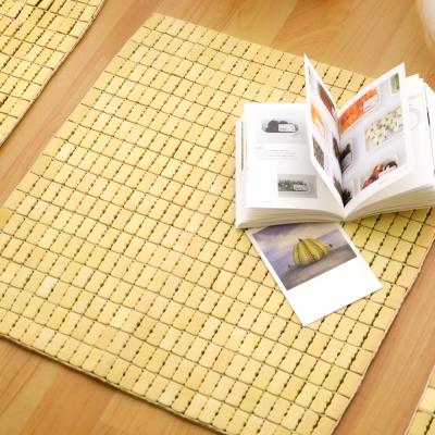 絲薇諾 天然專利麻將竹坐墊-單人座50×50cm