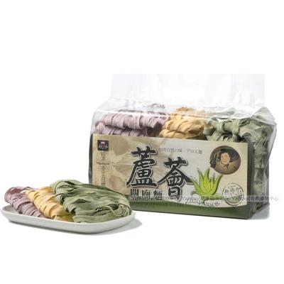 村家味 蘆薈蕾絲麵-綜合口味2袋(紫米地瓜、南瓜、綠藻)
