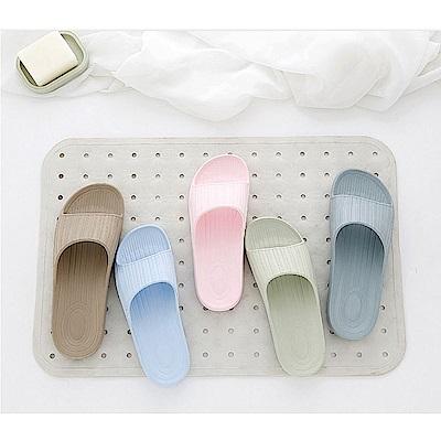 日創優品  38 度Q加厚柔軟室內外拖鞋( 6 雙優惠組合)
