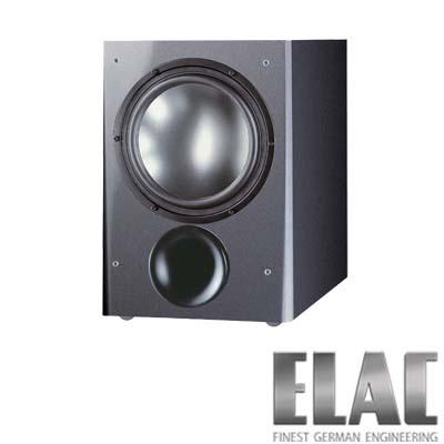 ELAC德國精品超重低音喇叭SUB111.2(SW黑色/TI鐵灰)-支