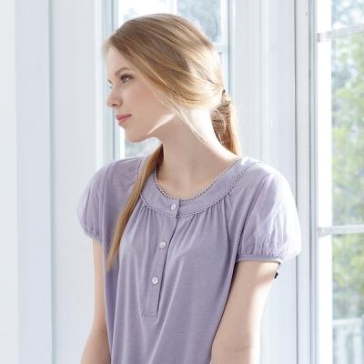 羅絲美睡衣 - 雅典美學褲裝睡衣 (優雅紫)
