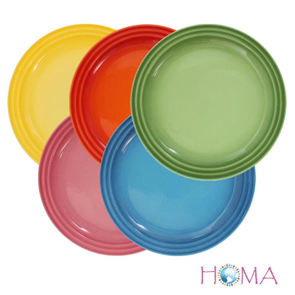 HOMA繽紛美味餐盤-五色組