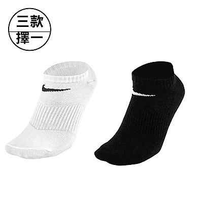 NIKE 耐吉 基本款休閒運動襪  踝襪兩包裝組(六雙)