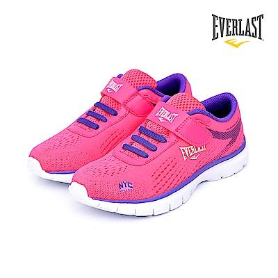 美國Everlast 多功能運動鞋-童鞋-桃紅
