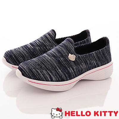 Hello Kitty-輕量針織休閒款-NI17200藍(女段)