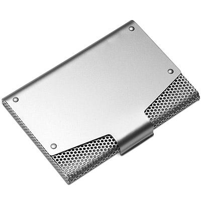 《REFLECTS》網紋證件名片盒(銀)