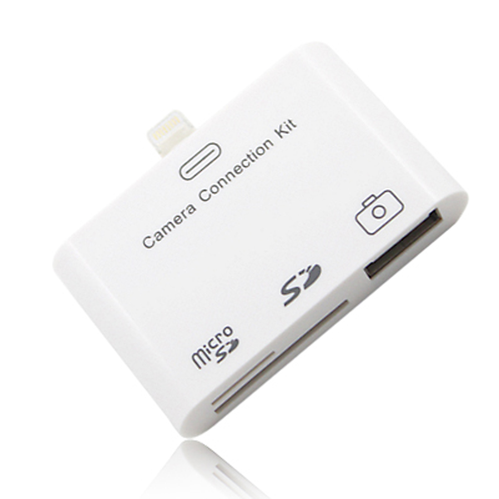 iPad mini專用Carmara USB連接埠+SD 讀卡機3 in1