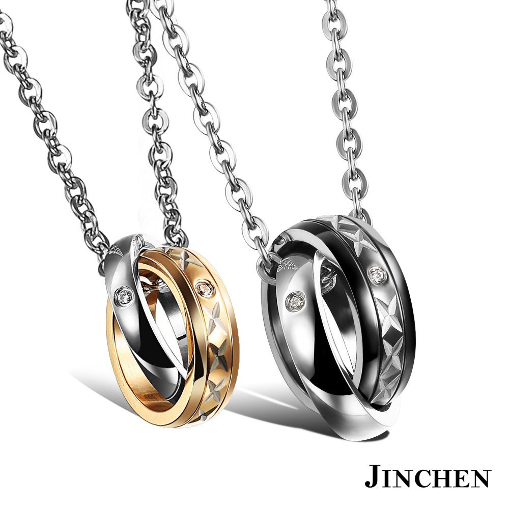 JINCHEN X情人 情侶項鍊 product image 1