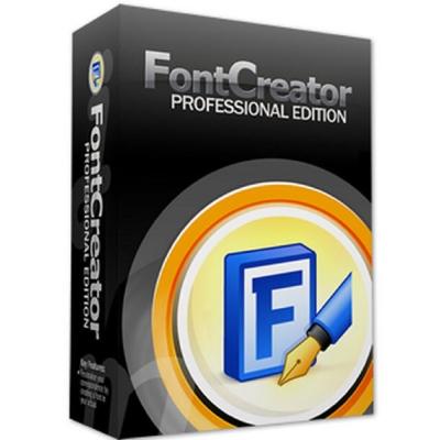 FontCreator 9 Standard標準版 單機版(下載)