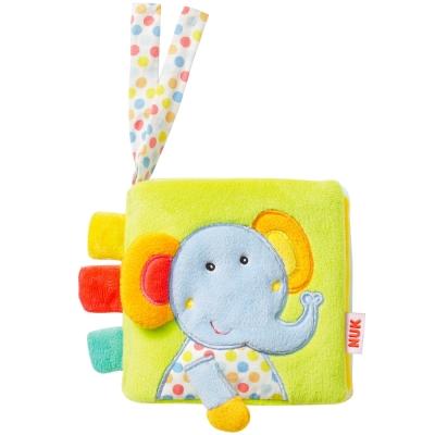 德國NUK絨毛玩具-小象布書