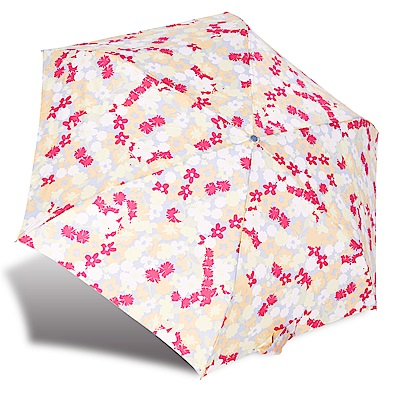 RAINSTORY繽紛花漾抗UV輕細口紅傘
