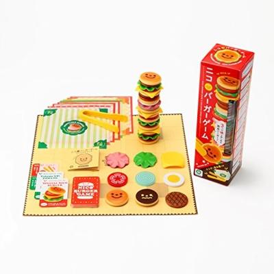 日本 EyeUp 漢堡疊疊樂