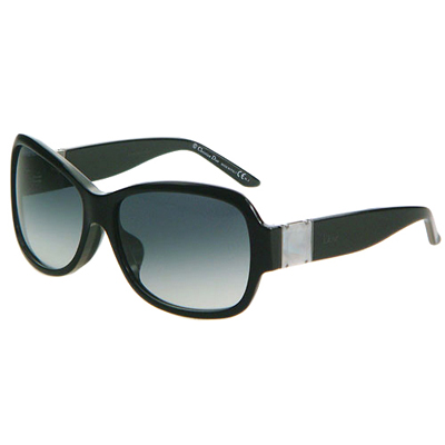 Dior-時尚太陽眼鏡 (黑色/咖啡紅)