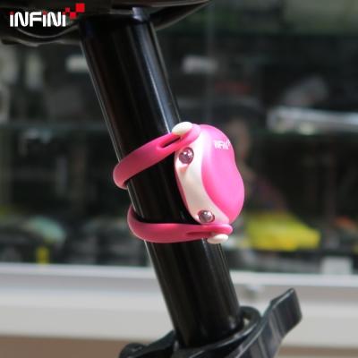 【INFINI】I-203R 2紅光LED悟空燈警示後燈-粉色