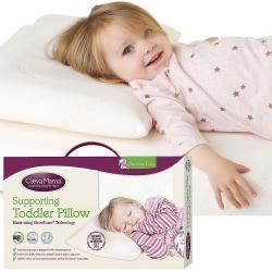 ClevaMama 防扁頭幼童枕(含膚色枕套)