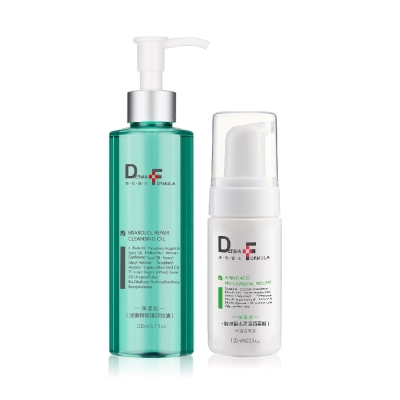 DF美肌醫生 沒藥醇修護潔顏卸妝組(保濕型/控油型)