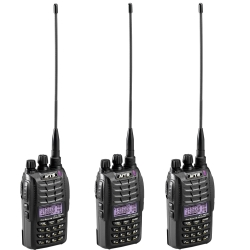 MTS TW2VU 專業無線電雙頻對講機 (豪華套餐 3入組)