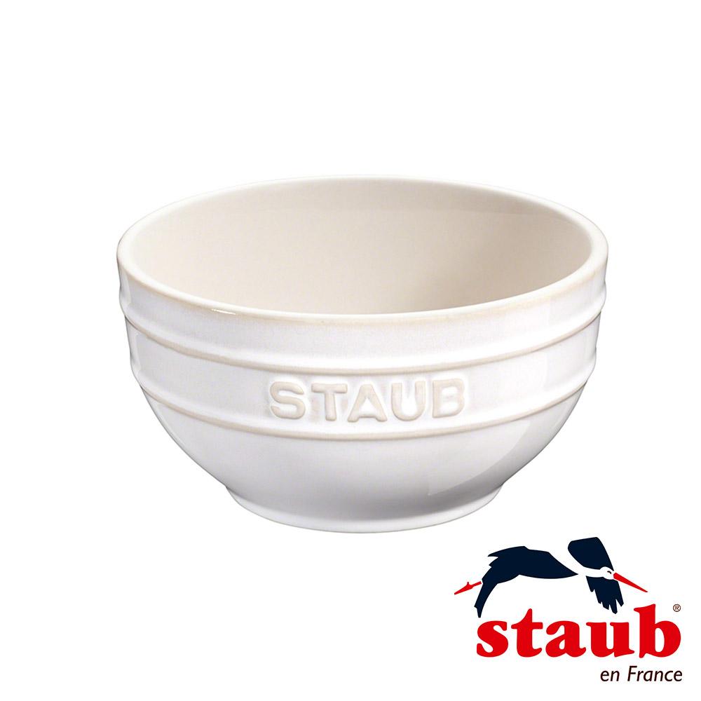 法國Staub 陶瓷碗 12cm-象牙白(8H)