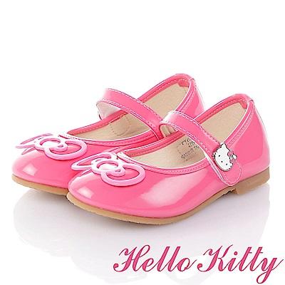 HelloKitty 手工超纖減壓娃娃童鞋-桃