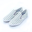 FILA 女款條紋休閒鞋-白灰 5-C102S-141