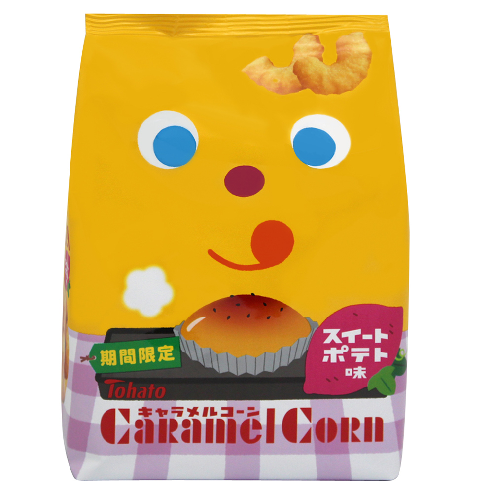 東鳩 焦糖玉米脆果-甜馬鈴薯(75g)