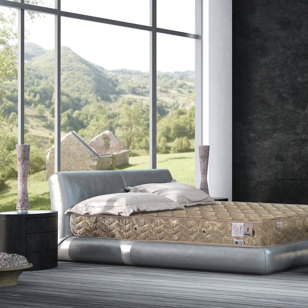 MONTAGUT 二線連結式手工床墊 加大6尺