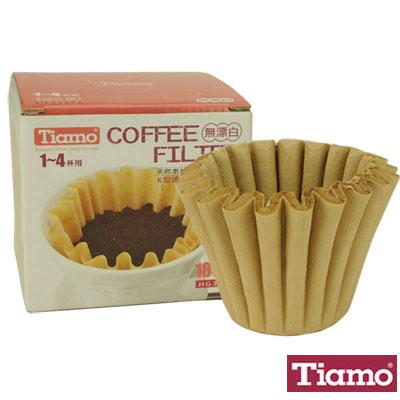 Tiamo K02蛋糕杯濾紙1-4人無漂白#185(HG3254)