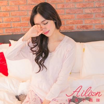 日系小媽咪孕婦裝。台灣製哺乳衣~蕾絲緹花衛生衣 L-XL (共二色)