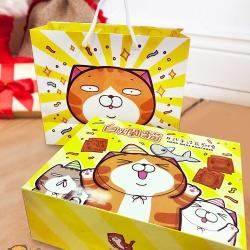 白爛貓日式手造瓦煎燒禮盒(蛋奶素)