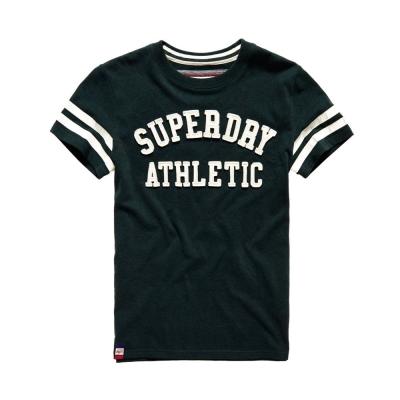 SUPERDRY 極度乾燥  文字短袖T恤 綠色