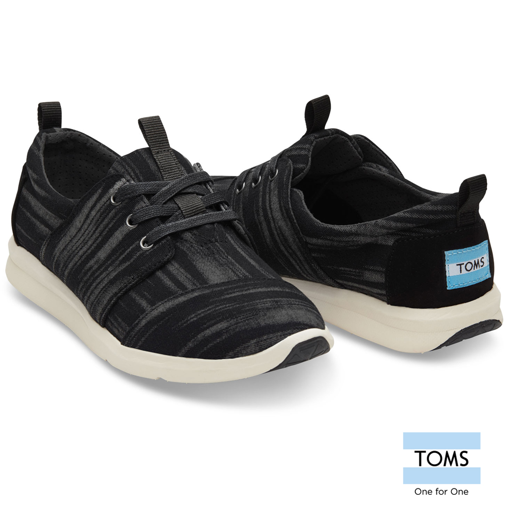TOMS 刷白編織休閒鞋-女款