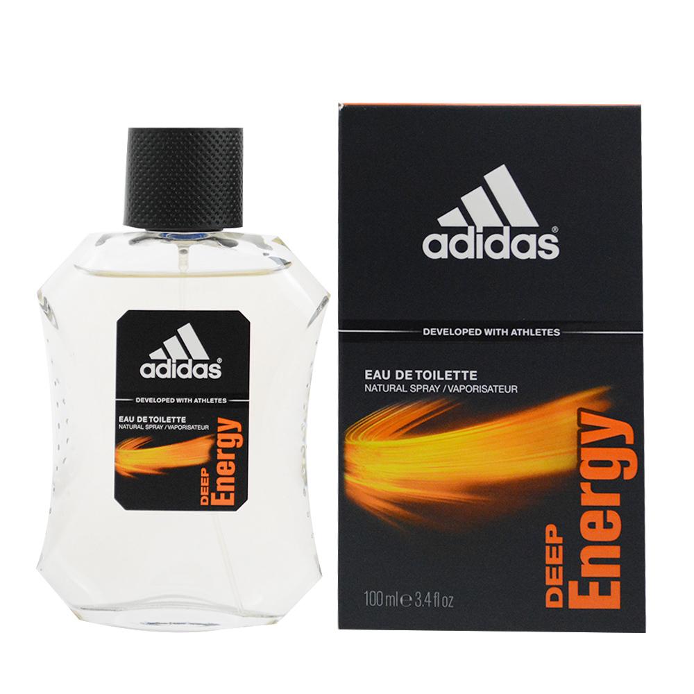ADIDAS愛迪達 DEEP ENERGY 完美勁能 男性淡香水100ml